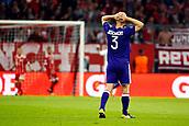 September 12th 2017, Munich, Germany, Champions League football, Bayern Munich versus Anderlecht;  Olivier Deschacht defender of RSC Anderlecht dejected  during the match