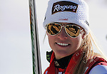 November 30, 2013 - Beaver Creek, Colorado, U.S. - Switzerland's, Lara Gut, following her victory in the ladies Super-G competition on Vail/Beaver Creek's new women's Raptor race course, Beaver Creek, Colorado.