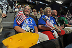 Wisconsin delegates on the first day of the Democratic National Convention at the Pepsi Center in Denver, Colorado on August 25, 2008.