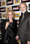 Amy Irving & husband Kenneth Bowser  attending the Broadway Opening Night Performance of 'Annie' at the Palace Theatre in New York City on 11/08/2012