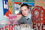 TOP OF THE CLASS: Michael Courtney from Currow and a student at St. Patrick's College in Castleisland who was awarded the Jim Lyons Award for Excellence in English.    Copyright Kerry's Eye 2008