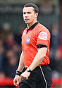 Referee Dean Whitestone. - Stevenage v Preston North End - npower League 1 - Lamex Stadium, Stevenage - 9th April, 2012. © Kevin Coleman 2012