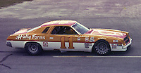 Cale Yarborough #11 Chevy at the 1977 Firecracker 400 at Daytona Internationa Spedway in Daytona Beach, FL in July 1977.(Photo by Brian Cleary/www.bcpix.com)