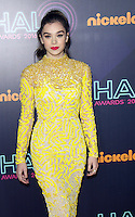 NEW YORK, NY November 11:Hailee Steinfeld at Nickelodeon HALO Awards 2016 at Pier 36 in New York City.November 11, 2016. Credit:RW/MediaPunch