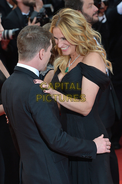 Jack O&acute;Connell (Jack O Connell) and Julia Roberts at the &acute;Money Monster` screening during The 69th Annual Cannes Film Festival on May 12, 2016 in Cannes, France.<br /> CAP/LAF<br /> &copy;Lafitte/Capital Pictures