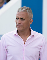 Keith Curle, Manager of Northampton Town during Colchester United vs Northampton Town, Sky Bet EFL League 2 Football at the JobServe Community Stadium on 24th August 2019
