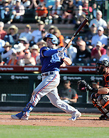 Scott Heineman - Texas Rangers 2020 spring training (Bill Mitchell)