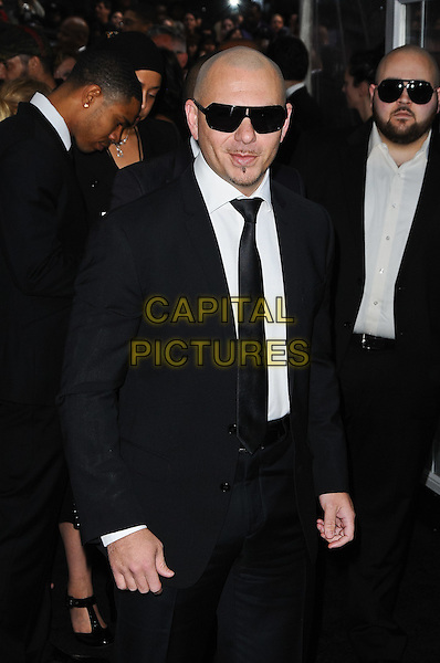 Pitbull (Armando Christian Perez) .'Men In Black III' New York Premiere, New York City, NY, USA..May 23rd, 2012.MIB3 3 half length black suit sunglasses shades .CAP/ADM/MSA.©Mario Santoro/AdMedia/Capital Pictures.