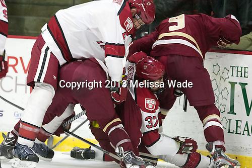 - The visiting Boston College Eagles defeated the Harvard University Crimson 5-1 on Wednesday, November 20, 2013, at Bright-Landry Hockey Center in Cambridge, Massachusetts.
