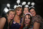 Emma Flemming, Claire Brennan, Melanie Reeves, Annemarie Walsh and Suzanne Geraghty celebrating Emma's Hen in Fusion...Photo NEWSFILE/Jenny Matthews.(Photo credit should read Jenny Matthews/NEWSFILE)....This Picture has been sent you under the condtions enclosed by:.Newsfile Ltd..The Studio,.Millmount Abbey,.Drogheda,.Co Meath..Ireland..Tel: +353(0)41-9871240.Fax: +353(0)41-9871260.GSM: +353(0)86-2500958.email: pictures@newsfile.ie.www.newsfile.ie.FTP: 193.120.102.198.
