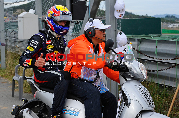 Mark Webber (AUS), Red Bull Racing <br /> for Austria &amp; Germany Media usage only!<br />  Foto &copy; nph / Mathis