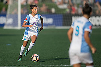 Allston, MA - Saturday August 19, 2017: Kristen Edmonds during a regular season National Women's Soccer League (NWSL) match between the Boston Breakers and the Orlando Pride at Jordan Field.