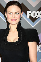 LOS ANGELES - JAN 8:  Emily Deschanel attends the FOX TV 2013 TCA Winter Press Tour at Langham Huntington Hotel on January 8, 2013 in Pasadena, CA