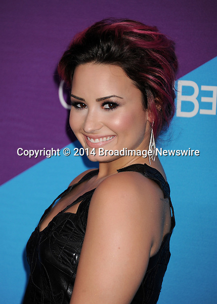 Pictured: Demi Lovato<br /> Mandatory Credit &copy; Gilbert Flores/Broadimage<br /> Unite4:Humanity Event<br /> <br /> 2/27/14, Culver City, California, United States of America<br /> <br /> Broadimage Newswire<br /> Los Angeles 1+  (310) 301-1027<br /> New York      1+  (646) 827-9134<br /> sales@broadimage.com<br /> http://www.broadimage.com