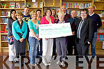 BOOK FUND: Members of the Parents association at Glenderry national school raised substantial cash for the development fot he new school library officially opened on Friday morning. Front l-r were: Brid Supple, Eileen Stack, Gerald Harty, Brid Cotter and Gabriel Fitzmaurice. Back l-r were: Sandra Breen, Bernard Lee, Mary Higgins, Hanna Quirke, Gerard Pierce, Fr Leane and Noel Casey.