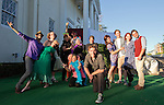 "The cast of ""A Midsummer Night's Dream"" in front of the Lear Theater  on Wednesday, June 4, 2014."