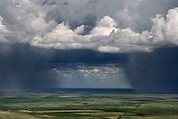 Summer thunderstorm, Elbert County, Colorado.  May 2015