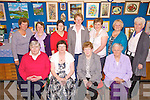 The ICA Guilds of Cahersiveen and An Dromoda had an exhibition opening in Cahersiveen Library on Thursday last showing the art & crafts of their members front l-r; Lena Coffey, Helen O'Sullivan(President Dromoda ICA), Maureen Murphy(President Cahersiveen ICA), Bride Roper, back l-r; Ann Musgrave, Noreen Hogan, Eileen O'Sullivan, Mary O'Connor, Aine O'sullivan, Maureen Griffin & Annette Fitzpatrick.