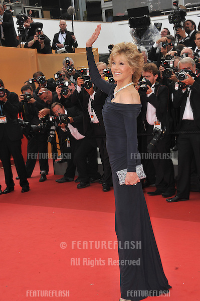 "Jane Fonda at the gala screening for ""Pirates of the Caribbean: On Stranger Tides"" at the 64th Festival de Cannes..May 14, 2011  Cannes, France.Picture: Paul Smith / Featureflash"