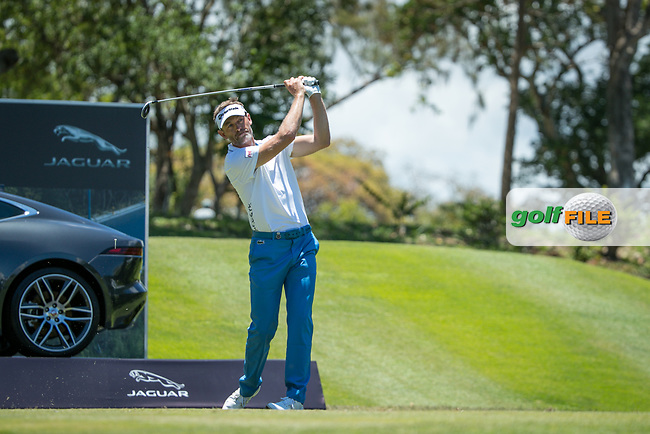 Raphael Jacquelin (FRA) during the 2nd round of the AfrAsia Bank Mauritius Open, Four Seasons Golf Club Mauritius at Anahita, Beau Champ, Mauritius. 30/11/2018<br /> Picture: Golffile | Mark Sampson<br /> <br /> <br /> All photo usage must carry mandatory copyright credit (© Golffile | Mark Sampson)