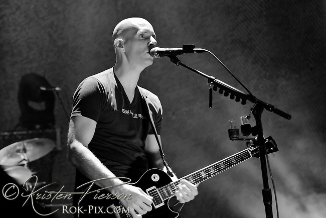 A Perfect Circle performing at the Bank of America Pavilion in Boston, MA on July 12, 2011