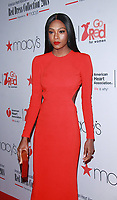 NEW YORK, NY February 08, 2018:Afiya Bennett  attend  American Heart Association's® Go Red For Women® Red Dress Collection® 2018 at Hammerstein Ballroom in New York. February 08, 2018. Credit:RW/MediaPunch