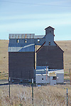 Grain Elevator, Eastern Washington State, Columbia Basin; Adams County, wheat country, Washington State; Pacific Northwest; USA,