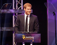 Prince Harry at the WellChild Awards 2017