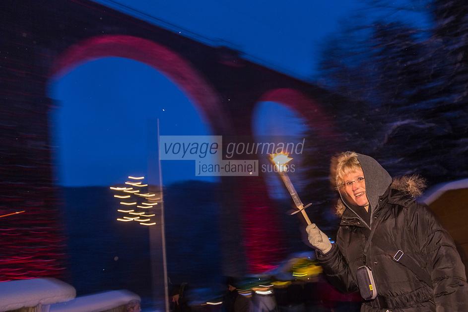 Europe/Allemagne/Bade-Würrtemberg/Forêt Noire/Env de Kirchzarten: Vallée de Höllental: Marché de Noël à la gorge de la Ravenna