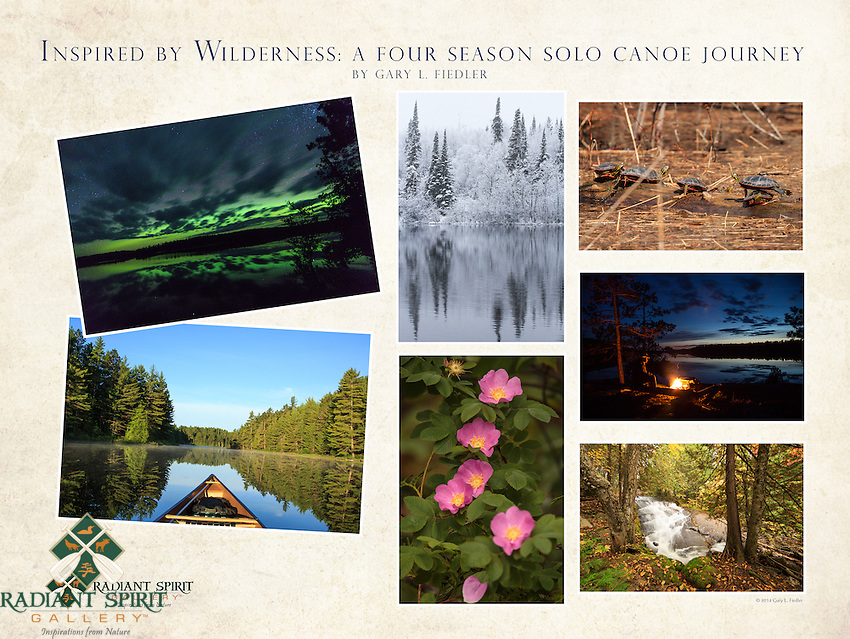 &quot;Inspired by Wilderness: A Four Season Solo Canoe Journey&quot;<br />