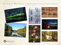 """Inspired by Wilderness: A Four Season Solo Canoe Journey""<br />