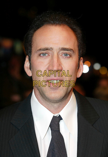 NICOLAS CAGE.Berlin Film Festival, Germany,.February 2003..portrait headshot nicholas.www.capitalpictures.com.sales@capitalpictures.com.© Capital Pictures