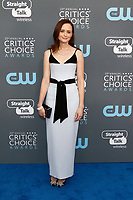 Alexis Bledel attends the 23rd Annual Critics' Choice Awards at Barker Hangar in Santa Monica, Los Angeles, USA, on 11 January 2018. Photo: Hubert Boesl - NO WIRE SERVICE - Photo: Hubert Boesl/dpa /MediaPunch ***FOR USA ONLY***