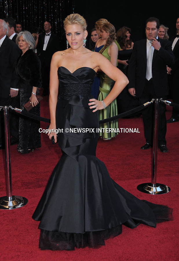 """BUSY PHILIPPS - Oscars 2011.83rd Academy Awards arrivals, Kodak Theatre, Hollywood, Los Angeles_27/02/2011.Mandatory Photo Credit: ©Phillips-Newspix International..**ALL FEES PAYABLE TO: """"NEWSPIX INTERNATIONAL""""**..PHOTO CREDIT MANDATORY!!: NEWSPIX INTERNATIONAL(Failure to credit will incur a surcharge of 100% of reproduction fees)..IMMEDIATE CONFIRMATION OF USAGE REQUIRED:.Newspix International, 31 Chinnery Hill, Bishop's Stortford, ENGLAND CM23 3PS.Tel:+441279 324672  ; Fax: +441279656877.Mobile:  0777568 1153.e-mail: info@newspixinternational.co.uk"""