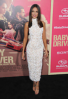 """14 June 2017 - Los Angeles, California - Eiza Gonzalez. Los Angeles Premiere of """"Baby Driver"""" held at the Ace Hotel Downtown in Los Angeles. Photo Credit: Birdie Thompson/AdMedia"""