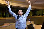 Conference logoBRUSSELS - BELGIUM - 15 November 2012 -- European Training Foundation (ETF) conference on - Towards excellence in entrepreneurship and enterprise skills. -- Inspiration: training for women entrepreneurs - Madi Sharma, MADI Group, United Kingdom. -- PHOTO: Juha ROININEN /  EUP-IMAGES.