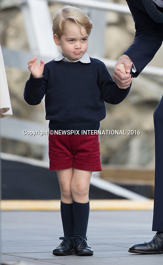 01.10.2016; Victoria, Canada: DUKE AND DUCHESS OF CAMBRIDGE, PRINCE GEORGE AND PRINCESS CHARLOTTE<br />