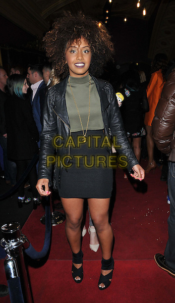 LONDON, ENGLAND - APRIL 28: Jade Avia attends the &quot;Anti-Social&quot; UK film premiere, Cineworld Haymarket, Haymarket, on Tuesday April 28, 2015 in London, England, UK. <br /> CAP/CAN<br /> &copy;Can Nguyen/Capital Pictures