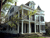 The exterior of the Opera Guild Home. Louisiana.