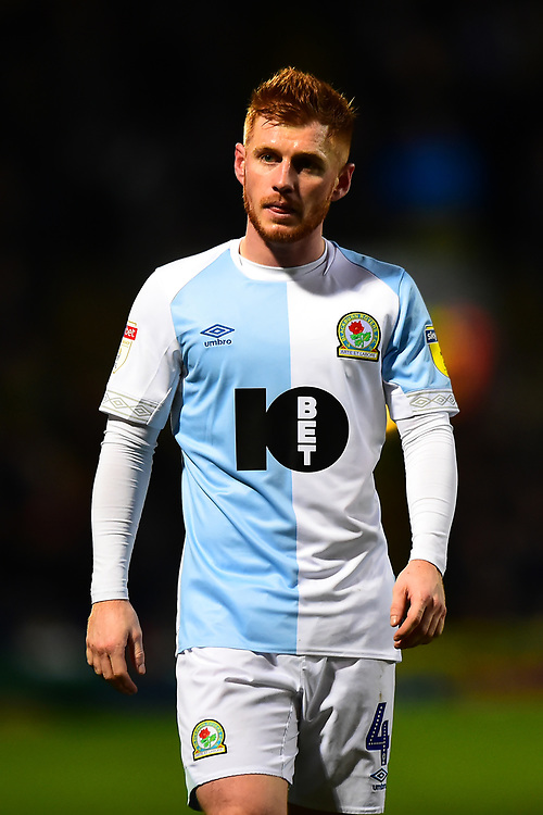 Blackburn Rovers' Harrison Reed looks on<br /> <br /> Photographer Richard Martin-Roberts/CameraSport<br /> <br /> The EFL Sky Bet Championship - Blackburn Rovers v West Bromwich Albion - Tuesday 1st January 2019 - Ewood Park - Blackburn<br /> <br /> World Copyright © 2019 CameraSport. All rights reserved. 43 Linden Ave. Countesthorpe. Leicester. England. LE8 5PG - Tel: +44 (0) 116 277 4147 - admin@camerasport.com - www.camerasport.com