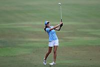 CHAPEL HILL, NC - OCTOBER 13: Kayla Smith of the University of North Carolina at UNC Finley Golf Course on October 13, 2019 in Chapel Hill, North Carolina.