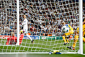 13th September 2017, Santiago Bernabeu, Madrid, Spain; UCL Champions League football, Real Madrid versus Apoel; Cristiano Ronaldo dos Santos (7) Real Madrid celebrates as he scores for 1-0