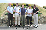 Graham Boyle, Rodney Boyle, Donagh O'Brien, John McCann and Gerry Smyth at the East Meath Utd Golf Classic....Photo NEWSFILE/Jenny Matthews.(Photo credit should read Jenny Matthews/NEWSFILE)....This Picture has been sent you under the condtions enclosed by:.Newsfile Ltd..The Studio,.Millmount Abbey,.Drogheda,.Co Meath..Ireland..Tel: +353(0)41-9871240.Fax: +353(0)41-9871260.GSM: +353(0)86-2500958.email: pictures@newsfile.ie.www.newsfile.ie.FTP: 193.120.102.198.