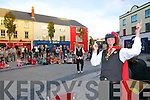 Ronaldo and Guido Fanzini perform the Canonball circus as part of Culture night in the Square Tralee on Friday evening.