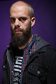 BARONESS - vocalist John Baizley - photosession in London UK - 12 Oct 2015.  Phot credit: Paul Harries/IconicPix