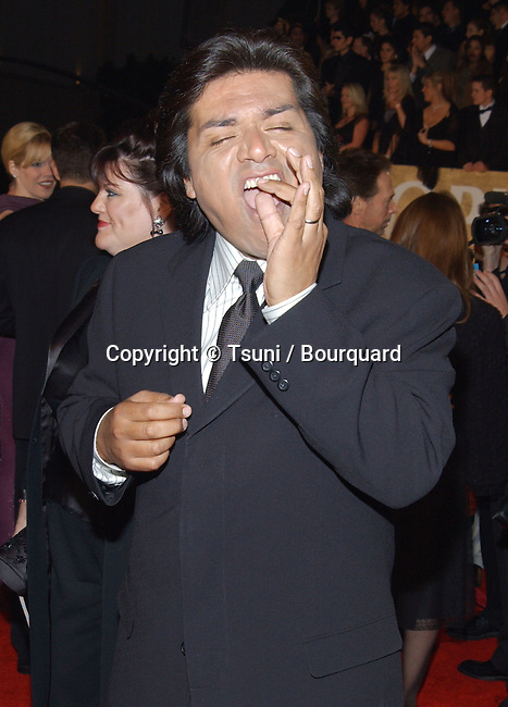 George Lopez arrives at the 29th People's Choice Awards at the Pasadena Civic Auditorium in Pasadena, CA, January 12, 2003.           -            LopezGeorge01.jpg