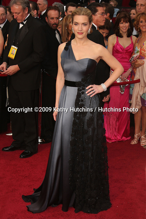 Kate Winslet  arriving at the 81st Academy Awards at the Kodak Theater in Los Angeles, CA  on.February 22, 2009.©2009 Kathy Hutchins / Hutchins Photo...                .