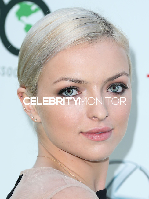 BURBANK, CA, USA - OCTOBER 18: Francesca Eastwood arrives at the 2014 Environmental Media Awards held at Warner Bros. Studios on October 18, 2014 in Burbank, California, United States. (Photo by Xavier Collin/Celebrity Monitor)