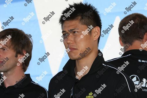 2010-06-24 / Voetbal / seizoen 2010-2011 / Fandag Lierse SK / Eiji Kawashima..Foto: mpics