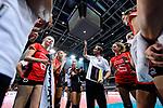 25.08.2018, …VB Arena, Bremen<br />Volleyball, LŠnderspiel / Laenderspiel, Deutschland vs. Niederlande<br /><br />Auszeit / Timeout Deutschland - Felix Koslowski (Trainer / Bundestrainer GER)<br /><br />  Foto &copy; nordphoto / Kurth